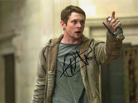 Jack O'Connell, Money Monster, signed 8x6 inch photo.